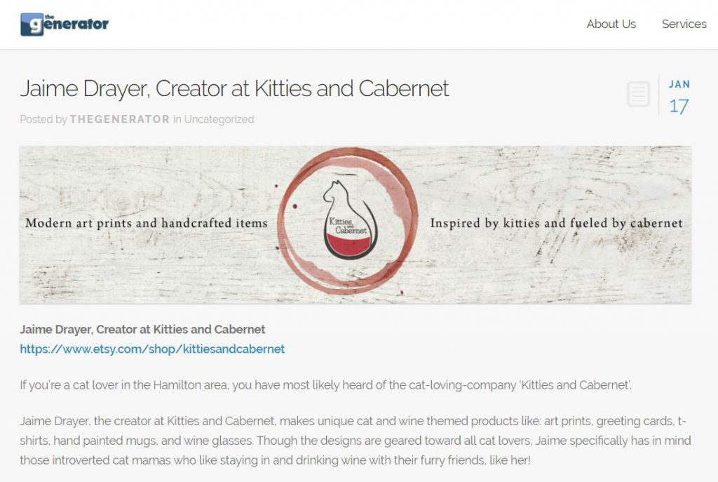 About - Kitties and Cabernet
